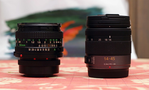 two G1 Lenses