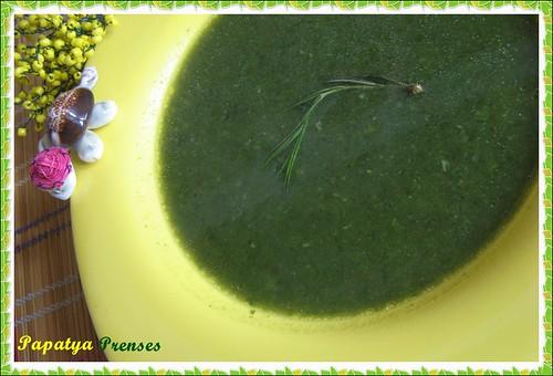 yeşil çorba