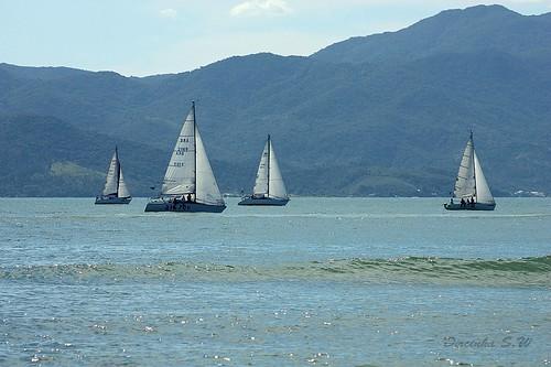 Praia do Forte - Florianópolis por Dircinha.
