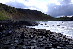 Giants Causeway (Joefuz) Tags: ireland light sea sky cloud sunlight seaweed lava coast waves hexagonal columns hexagon northernireland nationaltrust volcanic giantscauseway magma basalt antrim nationalnaturereserve basaltcolumns fionnmaccumhaill worldheritegesite finnmccoole