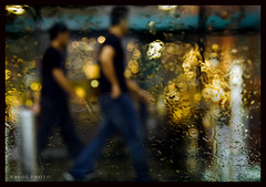 Step into the bokeh (Mark Emirali) Tags: light newzealand people