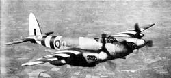 Warbird picture - D.H.98+Mosquito