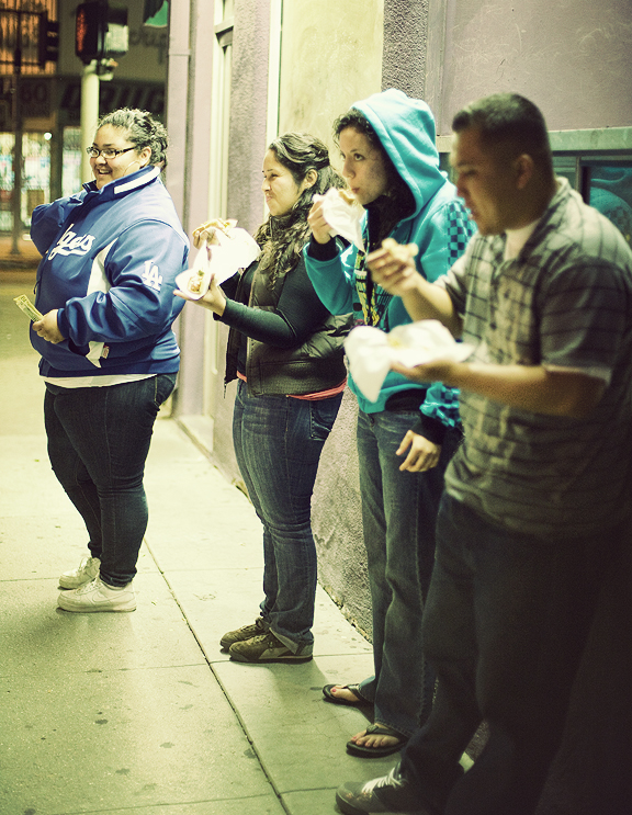 Bacon Wrapped Hot Dog Lady, Los Angeles