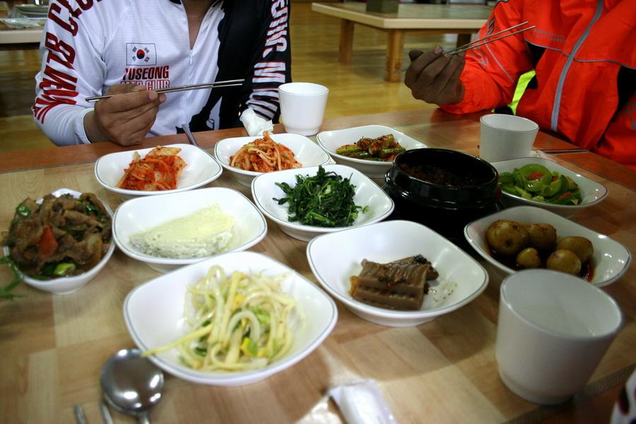 Ureong-ssam lunch set