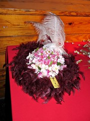 """Spring Fling"" Derby Hat (urbanshoregirl) Tags: life charity new 2 hat neck paul kentucky country may nj monmouth colts fundraising gala 2009 derby crisis jdrf diabetes mahos juvenilediabetes"