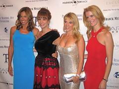 Kelly Killoren Bensimon, Jill Zarin, Ramona Singer, and Alex McCord