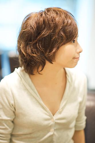 女生髮型 讓髮尾飛揚的清爽髮型