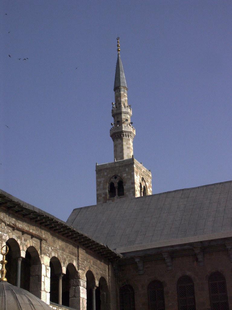 Дамаск. Мечеть Омейядов.