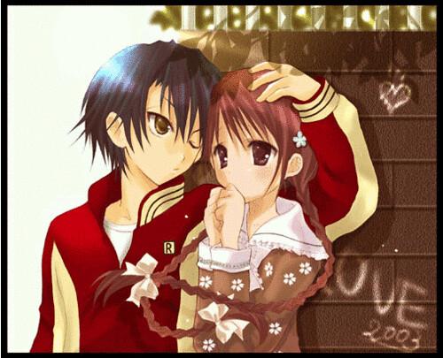 cute anime couple 9
