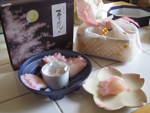 Minamoto Kitchoan - Sakura flavoured mochi