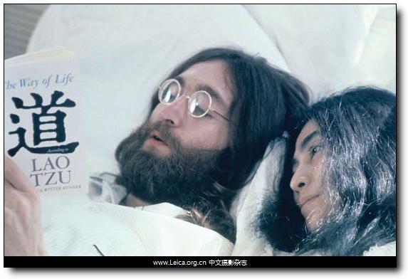 『摄影展』列侬+洋子:给和平一个机会
