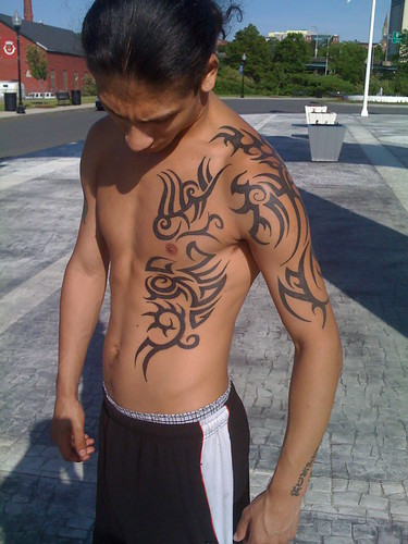 arm tribal tattoos for guys. Boys Tribal Tattoos