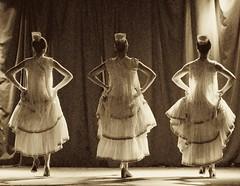 3 dancers facing back (Michael Andrassi) Tags: canada dance nikon quebec d200 flamenco michaelandrassi mikeya mmmikey2007