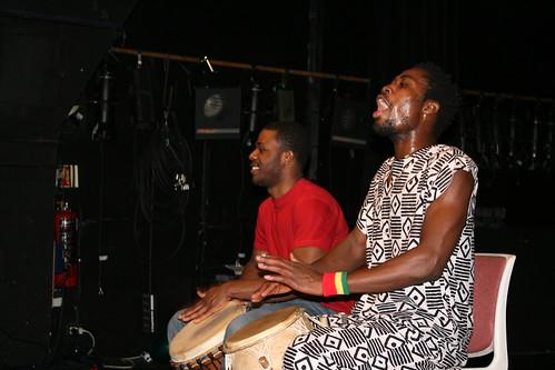 Ghanian drums
