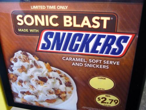 Limited Edition Sonic Blast!