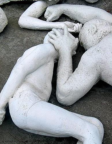 Holocaust memorial in San Francisco, CA. Photo: Dubgael, flickr