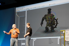 "Mark Gerhard and James Gosling, General Session ""The Toy Show"" on June 5, JavaOne 2009 San Francisco"