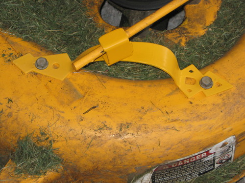 GT2544 PTO belt issues - MyTractorForum com - The