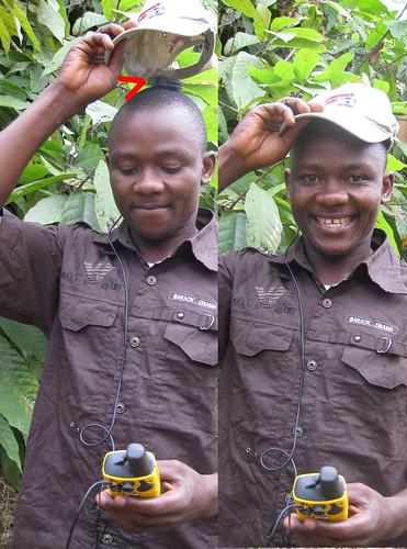 Mpaka secure antenna under hat