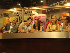 Glee cast signing