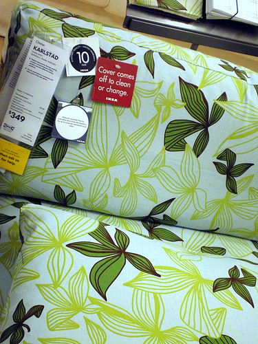 Mader Fabric, Karlstad Chaise Longue, IKEA
