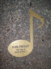 Brass note on Beale Street for Elvis Presley