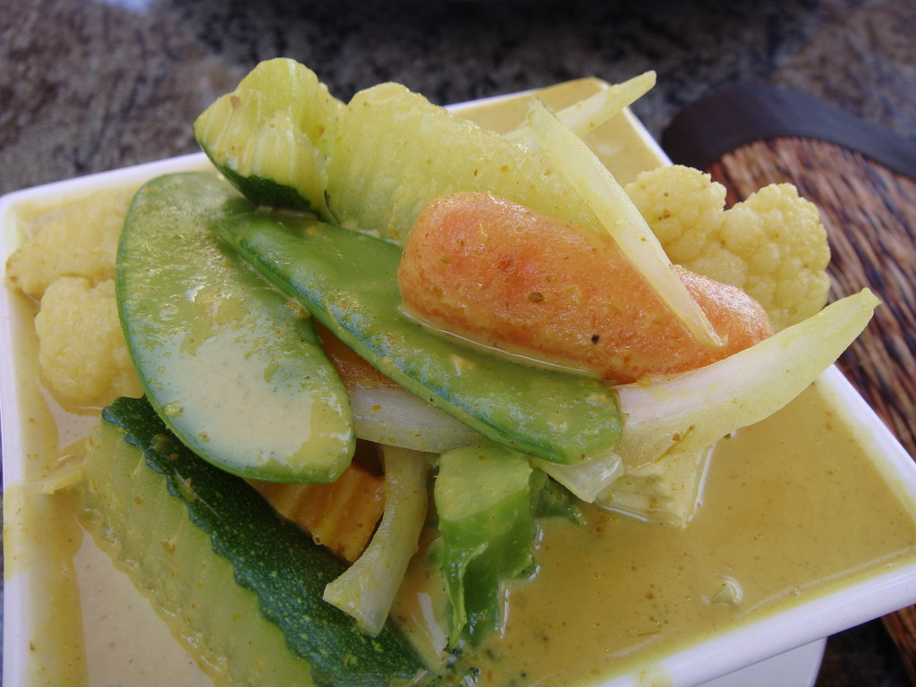 Yellow Curry - vegetables