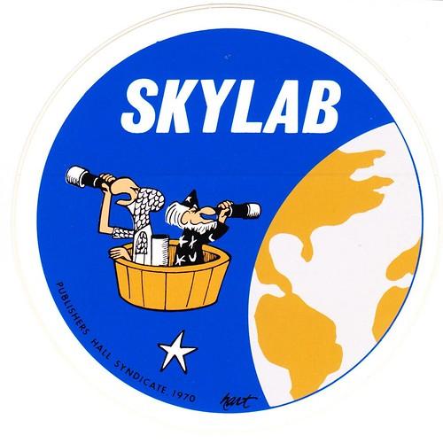 SKYLAB / FUNNEY STICKER