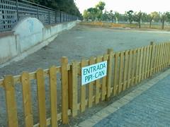 Amposta: Pipi-can del parc dels Xiribecs