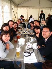 table  In this photo: Atsushi Ono, David Millin, Timothy Oliver, Sakiko Sugawara, Kyoko Morita, Kenny Lee, Maya Fujikawa