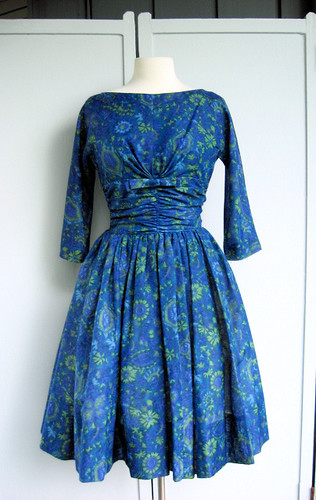 sapphire Jonathan Logan party dress