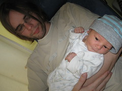 Liam & Dad (Jennifertje) Tags: hospital san liam sander