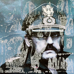 Shell-shocked (daliborlev) Tags: portrait texture paper square soldier urbandecay brno damage damaged mundanedetail motörheadposter