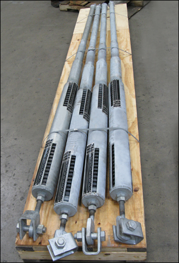 """126"""" Long Sway Braces for a Power Plant"""
