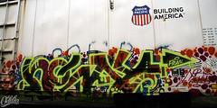 IMG_3630 (Oddio) Tags: oregon bench portland graffiti noway pdx nr