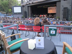 Beverly Hills Porsche's VIP Box at the Greek Theatre in Los Angeles (PorscheLosAngeles) Tags: tower greek war power display theatre hills turbo porsche beverly concerts sponsor panamera