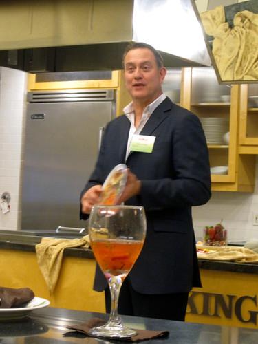 David Grotto, CA Strawberry Blogger Event in Dallas, TX