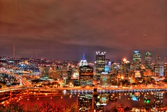 Pittsburgh skyline HDR (Dave DiCello) Tags: park city winter ohio reflection cars beautiful skyline night photoshop river lens landscape lights major nikon pittsburgh cityscape view cs2 baseball steel pirates tripod mtwashington nikkor streaks usx overlook hdr allegheny league monongahela mlb pnc pittsburghpa highmark nighttimephotography steelcity photomatix beautifulcities yinzer pittsburghbridges d40 cityofbridges tonemapped theburgh upmc pittsburgher hdrphotography hdrnight nighthdr beautifulskyline d40x hdratnight nighttimehdr thecityofbridges pittsburghphotography evad310 davedicello pittsburghcityofbridges steelscapes b