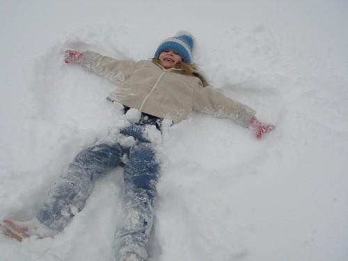 Lena - snow angel