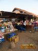 Market breakfast eatery at Pakse Laos