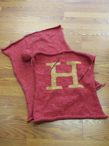 In progress: The Letter H