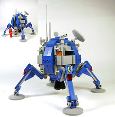 Happy Birthday Classic Space! (DARKspawn) Tags: moon ship lego space craft neoretro classicspace lunalander