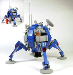 Happy Birthday Classic Space! (DARKspawn) Tags: moon ship lego space craft neoretro classicspace lunalander
