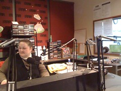 Radio interview at 102.7 3RRR in Melbourne