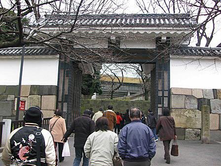 武道館~田安門