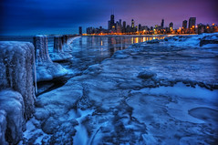 Make no little plans. (kern.justin) Tags: lake chicago building ice nikon searchthebest michigan january hancock fullerton hdr chicagoist goldcollection d700 vosplusbellesphotos kernjustin wwwthewindypixelcom thewindypixel