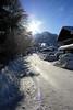 Oberstdorf - Gegenlicht und Schnee (Jörgenshaus) Tags: schnee snow backlight bayern deutschland alpen gegenlicht oberstdorf challengeyouwinner motifdchallenges pfogold thechallengefactory