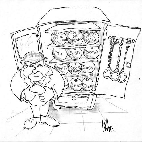 L'armadio delle Palle al piede di Berlusconi