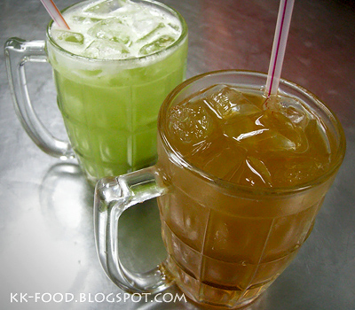 Cucumber Juice & Honey Green Tea Juice