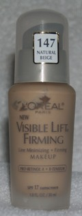 NEW l'oreal visible lift firming makeup